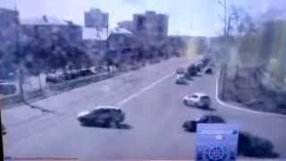 ДТП на перекрестке проспекта Гагарина и улицы Восточной