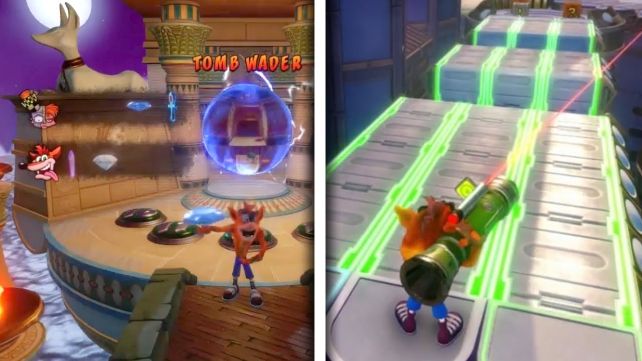 Crash Bandicoot  Warp Room Music