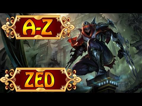 ZED, Der Meister der Schatten - League of Legends A-Z