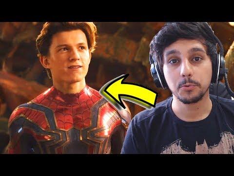Vingadores Guerra Infinita Trailer 2 | Reagindo e Comentando