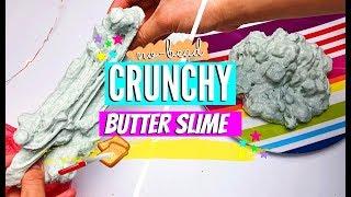 DIY NO-BEAD Crunchy Butter Slime EliseLife