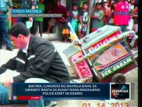 Saksi: Ice cream vendor sa Tondo, patay sa pamamaril sa gitna ng election gun ban