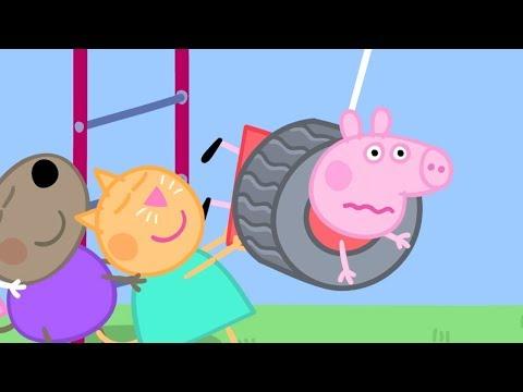 Peppa Pig in Hindi - The Playground - Khel ka Maidan - ????? Kahaniya - Hindi Cartoons for Kids