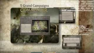 Commander: The Great War ingame and features video
