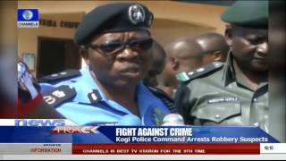 Kogi Police Command Arrests Robbery Suspects -- 06/09/15