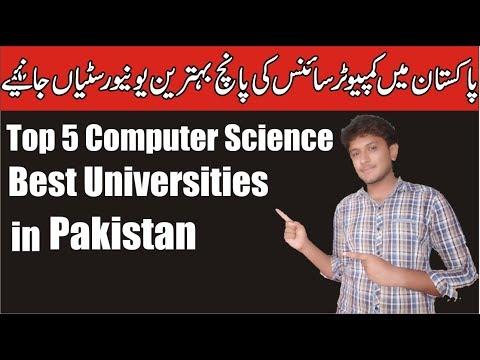 Top 5 Computer Science/BSCS Universities in Pakistan