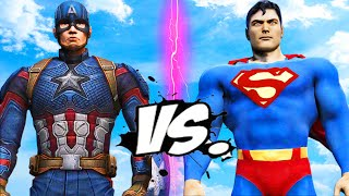 SUPERMAN VS CAPTAIN AMERICA - EPIC BATTLE