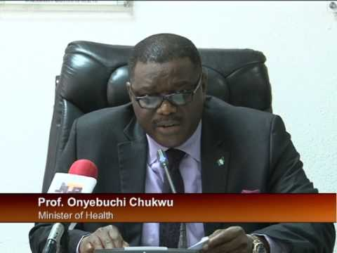 Minister of Health Update On Ebola
