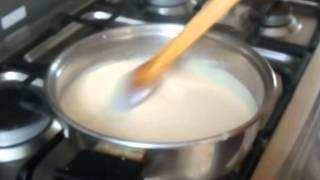 Dulce de maizena con leche
