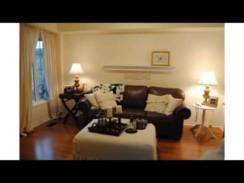 Dark Brown Leather Sofa Decorating Ideas - YouTube