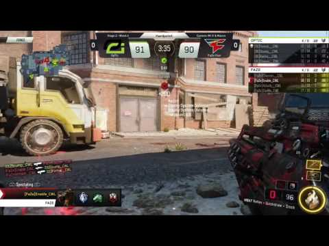 5/26 NA Pro Division OpTic Gaming vs FaZe Clan - Call of Duty® World League
