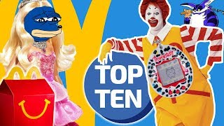 10 Best McDonald's Happy Meal Toys! | Top Ten Daily