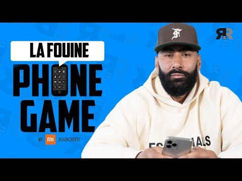Youtube: La Fouine: Son 1er bipeur, WhatsApp, son emoji, Buss It, son réveil, ses toplines… [Phone Game]