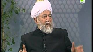 Liqa Ma'al Arab 2nd April 1998 Question/Answer English/Arabic Islam Ahmadiyya