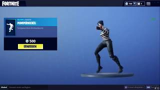"Fortnite of new emote ""pumpernickel"" 1080p60Fps"