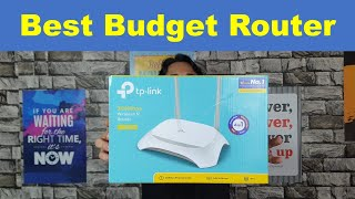 Tp Link Router ✔ | Best Budget WIFI Router 👌| Unboxing ✅| TL-WR840N Wireless Router 🤘🔥🔥🔥🔥