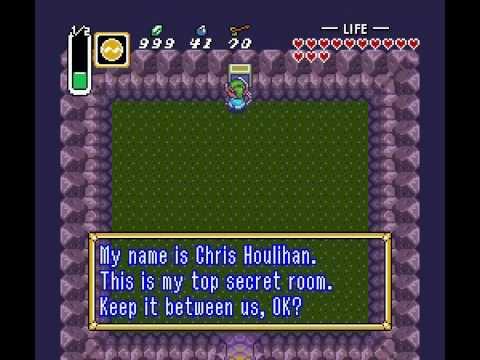 Image result for chris Houlihan Secret Room In Zelda, Link To The Past