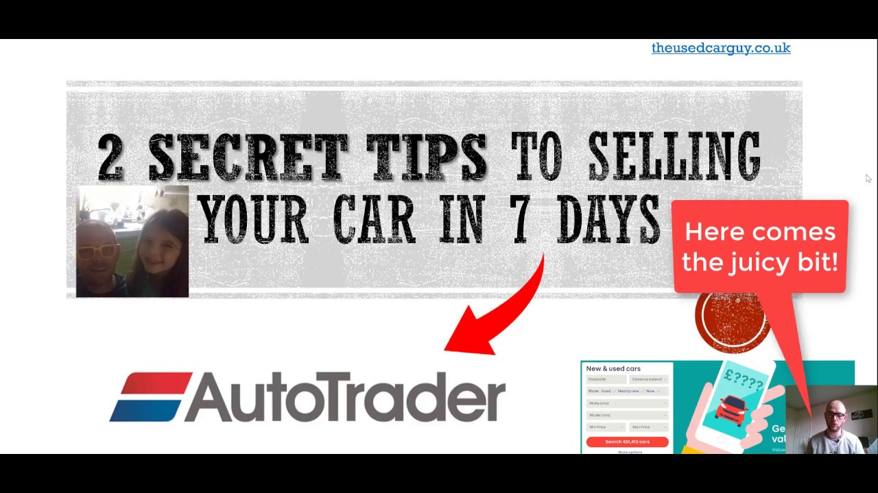 Sell My Car, Online in 7 Days - Autotrader Prices & Advert - Used ...