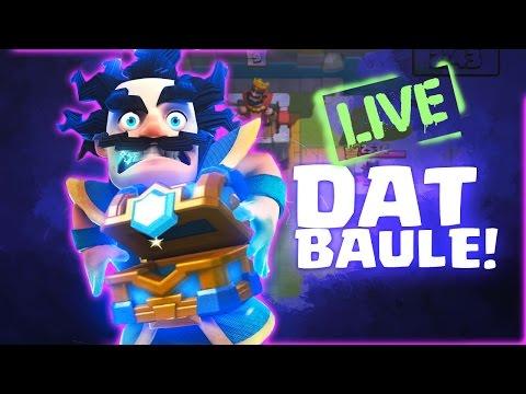 [LIVE] BAULE CLAN! (OPEN) e LE VOSTRE CARTE Clash Royale IN LIVE!