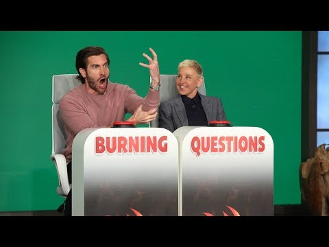 Jake Gyllenhaal Answers Ellen's 'Burning Questions'