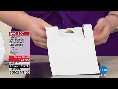HSN | Paper Crafting Tools & Supplies 05.02.2018 - 08 AM
