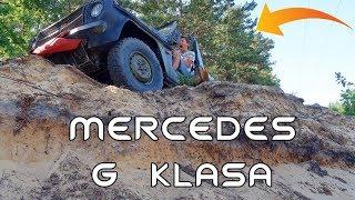 Mercedes G-Klasa na trudnym terenie - to auto jest jak czołg!