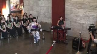 臺灣之旅交流音樂會-二胡獨奏 鳴尾牧子  幻想曲