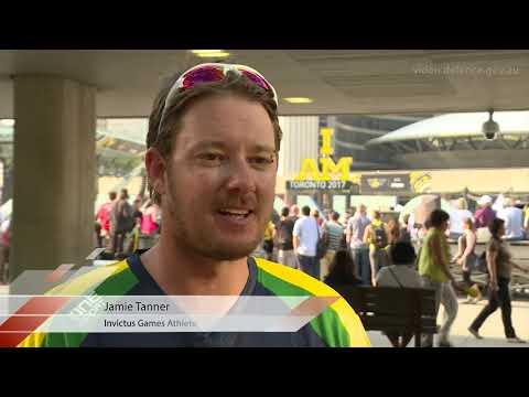 Australian Tennis Team competes at Invictus Games