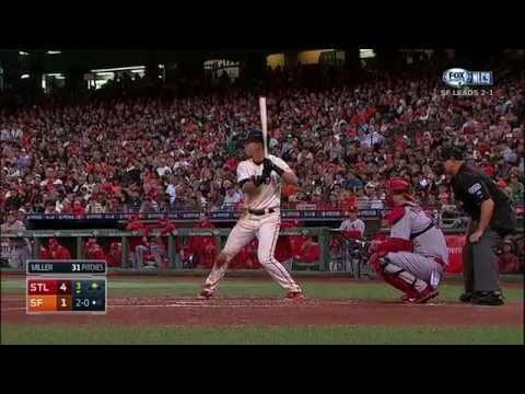NLCS G4: Giants Vs. Cardinals [Full Game HD]