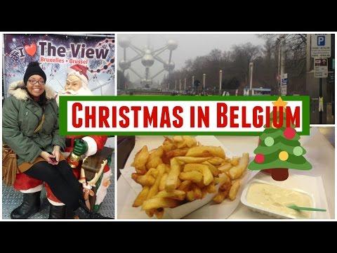 Spain Vlog #5 | Christmas in Belgium