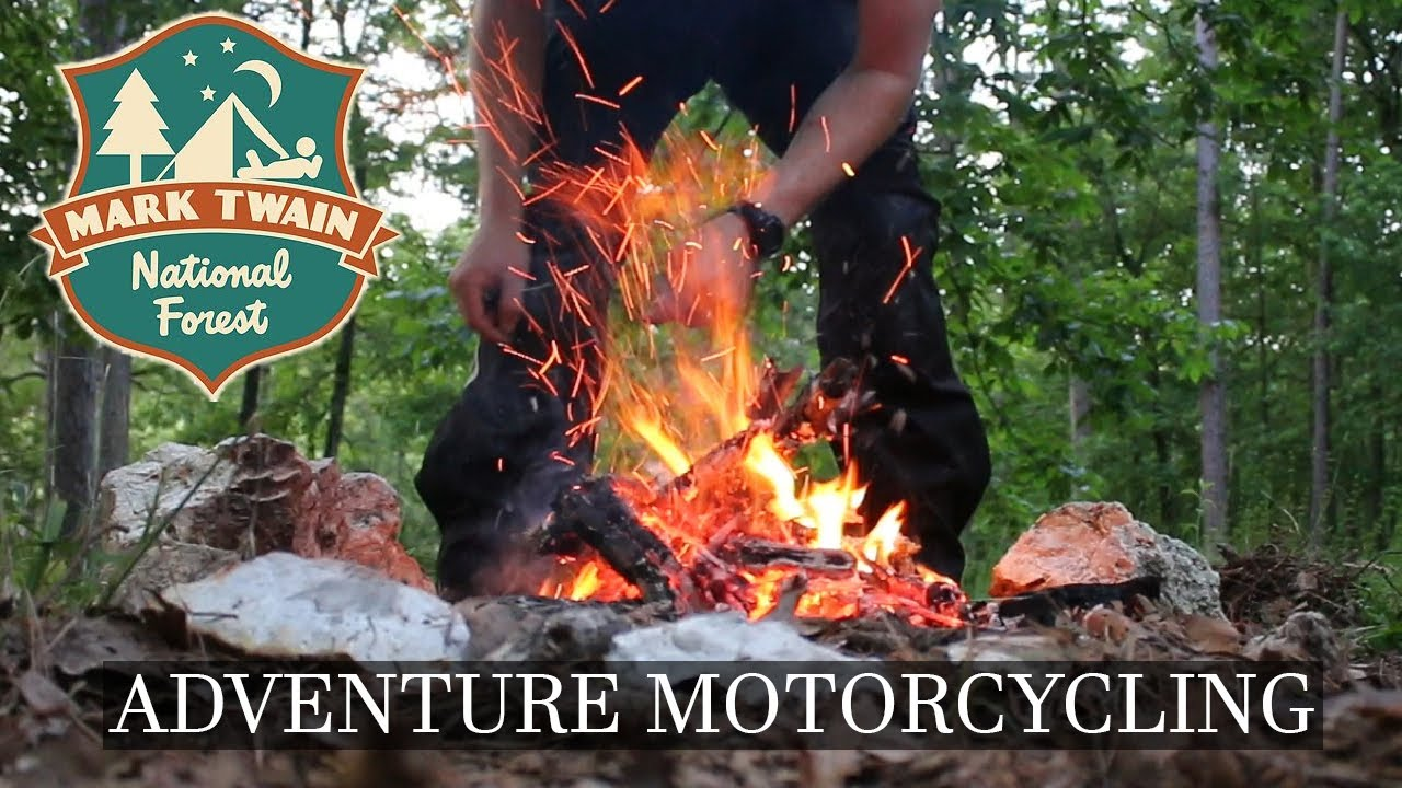 Motorcycle Camping In Mark Twain National Forest