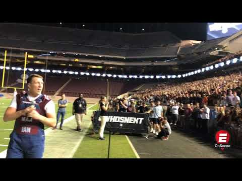 A&M fans get pumped for top ranked Alabama   ESPN