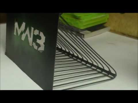 MW3 Game Holder
