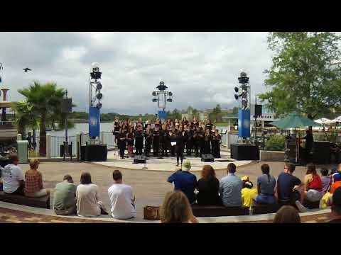 Larkin High School Vocalists at Disney Springs 3.26.18