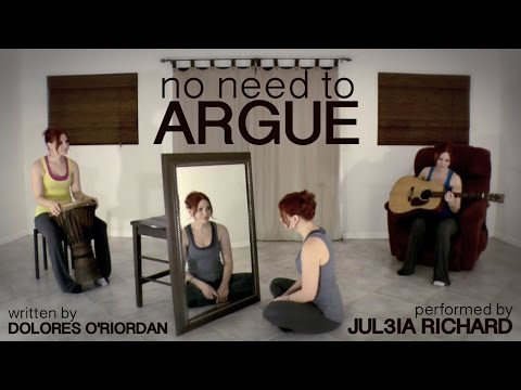 NO NEED TO ARGUE [Cranberries Cover]
