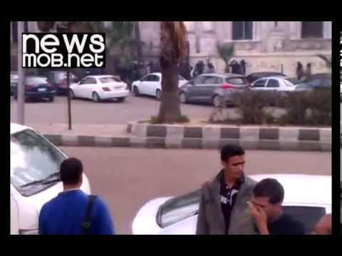 Cairo - Police fire teargas at Alexandria demonstration under new law