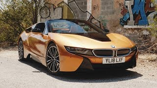 Bmw I8 Roadster Road Review: The Ultimate Urban Sportscar - Carfection (4k)