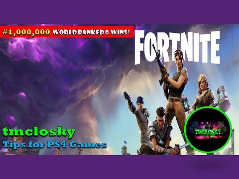 #1,000,000 WORLD RANKED 0 WINS! FORTNITE BATTLE ROYALE