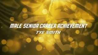 Towson Golden Paws: Male Senior Career Achievement, Tye Smith