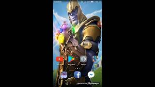 thanos in fortnite live wallpaper pc and phone free download