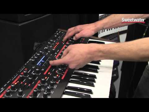 Dave Smith Instruments Pro 2 Synthesizer Demo - Sweetwater At Summer NAMM 2014