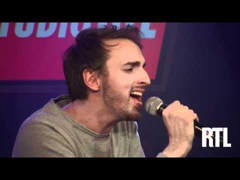Christophe Willem - Jacques a dit en live dans le Grand Studio RTL présenté par Eric Jean Jean - RTL