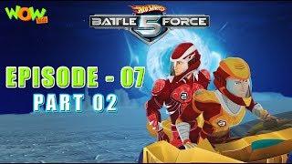 Motu Patlu presents Hot Wheels Battle Force 5 - Behind Enemy Lines - Episode 7-P2 - in Hindi