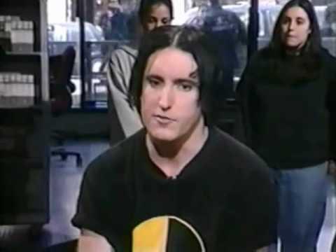 Trent Reznor Interview - April 2000 Much Music - fragility tour PART 1