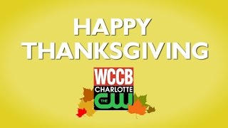 HAPPY THANKSGIVING from WCCB News Rising!