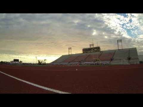 TIME LAPSE: Backfield at Long Beach City College