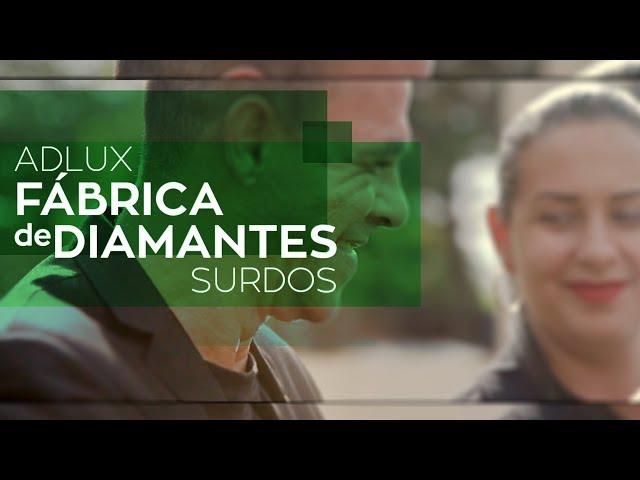 Da Adlux para o Brasil o 1º Casal de Diamantes Surdos