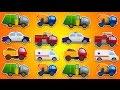 Automóviles. Camiones. Dibujos animados. Bomberos truck. 30 minutos.  Videos para niños. Coches