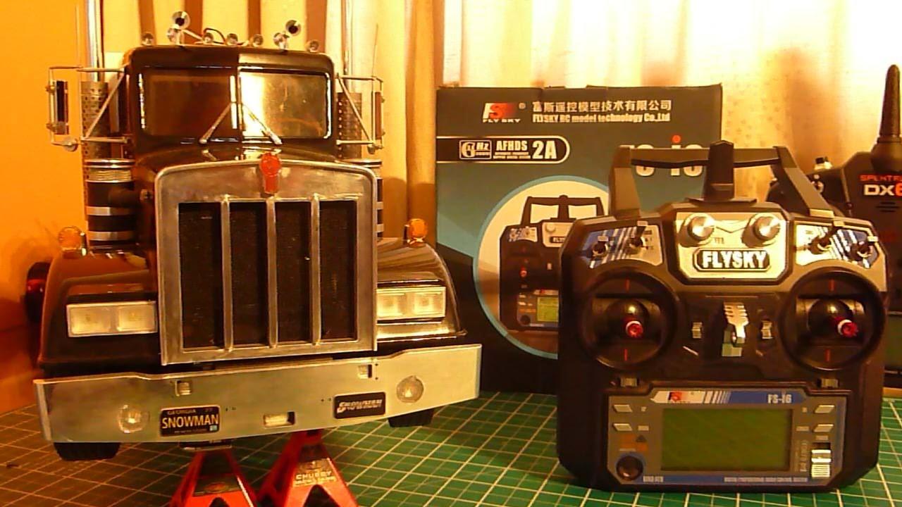 FlySky FS-i6 & MFC-03 Set Up