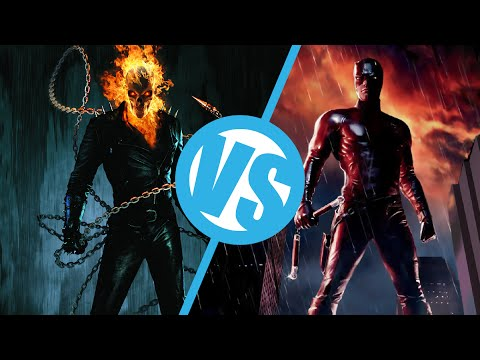 Daredevil VS Ghost Rider which is worse : Movie Feuds ep107